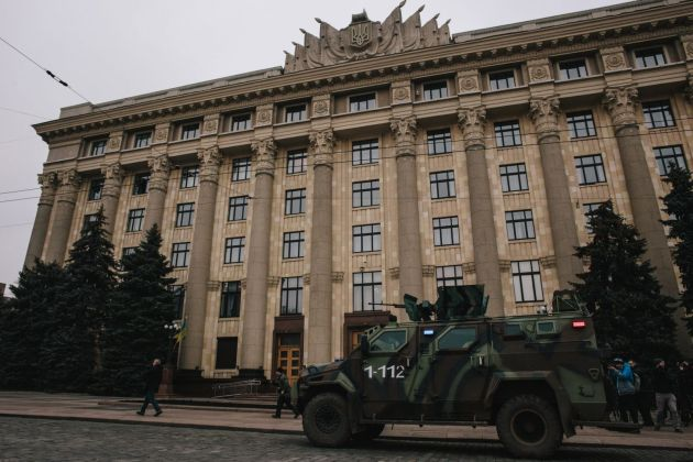 "В Харькове силовики провели ""освобождение"" ОГА 5"