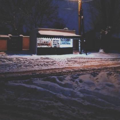 Харьков и дальше будет заметать снегом, полиции поручено убрать с улиц машины 10