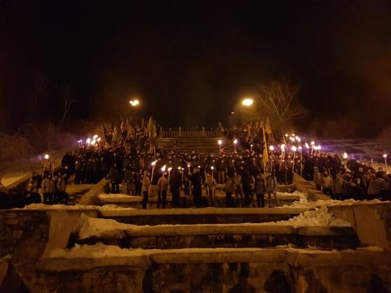 Фоторепортаж с марша Азова в Харькове 12