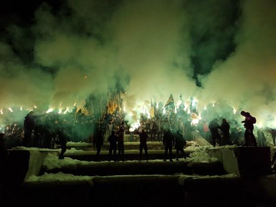 Фоторепортаж с марша Азова в Харькове 13
