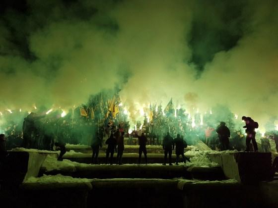 Фоторепортаж с марша Азова в Харькове 14