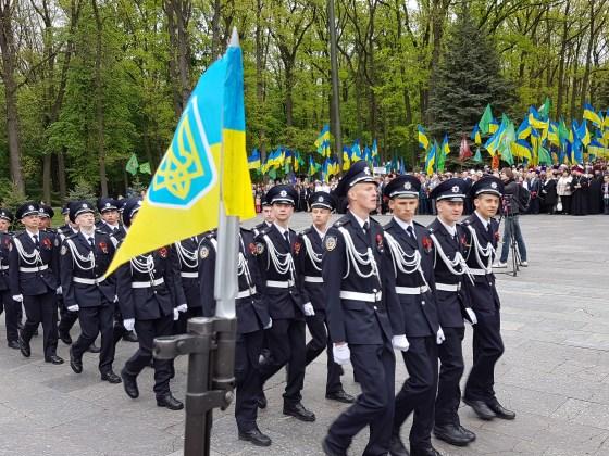 Во время памятной акции на Мемориале Славы в Харькове произошли стычки 7