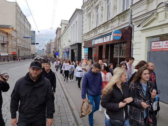 В Харькове прошёл марш вышиванок 18