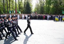 В Харькове состоялось возложение цветов по случаю Дня памяти и примирения 7