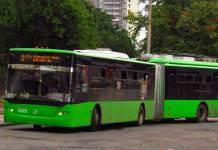 В Харькове троллейбус изменит маршрут из-за реконструкции контактной сети 3
