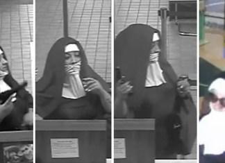"""ФБР разыскивает вооружённых """"монашек"""", попытавшихся ограбить банк"""