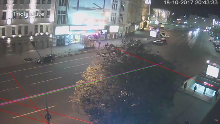 Анализ записей с видеокамер: Зайцева двигалась со скоростью более ста километров в час 1