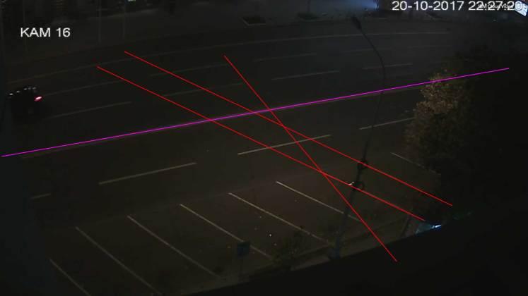 Анализ записей с видеокамер: Зайцева двигалась со скоростью более ста километров в час 2