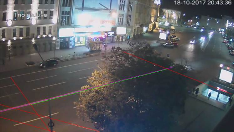 Анализ записей с видеокамер: Зайцева двигалась со скоростью более ста километров в час 6