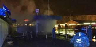 В Харькове произошёл пожар в переходе метро 1
