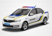 Украинская полиция закупила 400 автомобилей Škoda Rapid 2