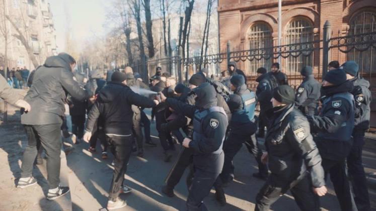 В Харькове разгромили съёмочную площадку сериала о советской военной прокуратуре 4