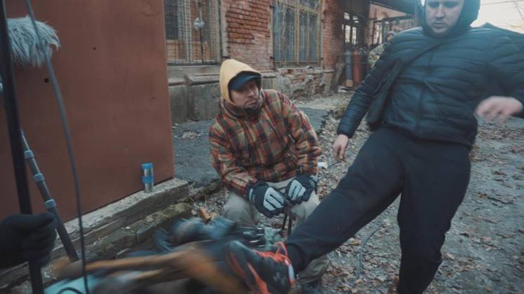 В Харькове разгромили съёмочную площадку сериала о советской военной прокуратуре 10
