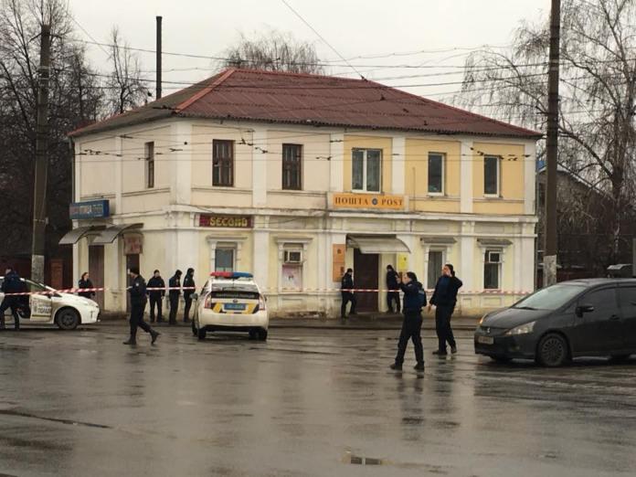 В Харькове неизвестный захватил отделение почты 1