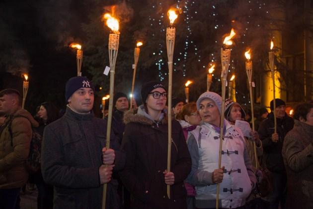 В Украине отпраздновали день рождения Степана Бандеры 7