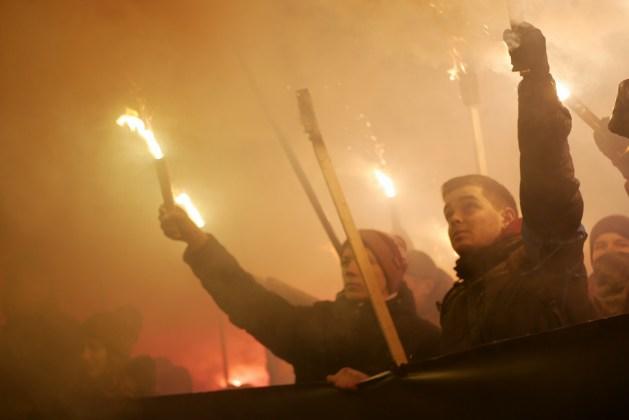 В Украине отпраздновали день рождения Степана Бандеры 21