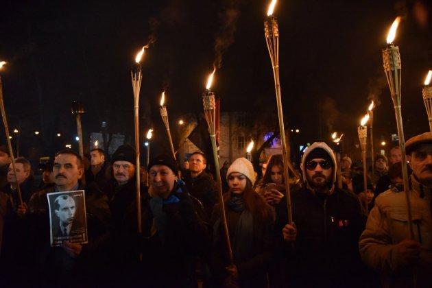 В Украине отпраздновали день рождения Степана Бандеры 24