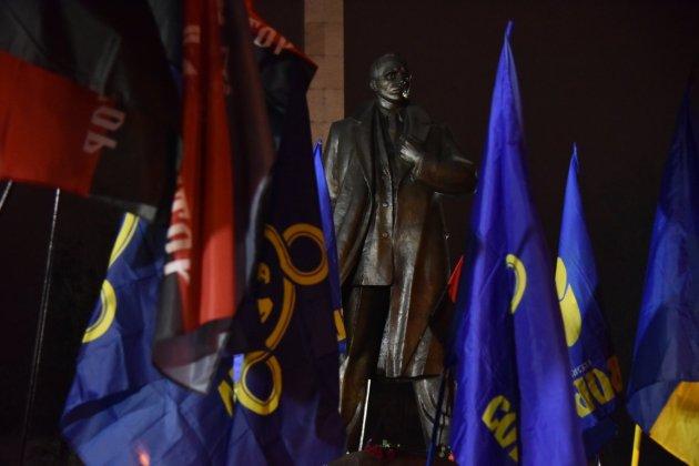 В Украине отпраздновали день рождения Степана Бандеры 25