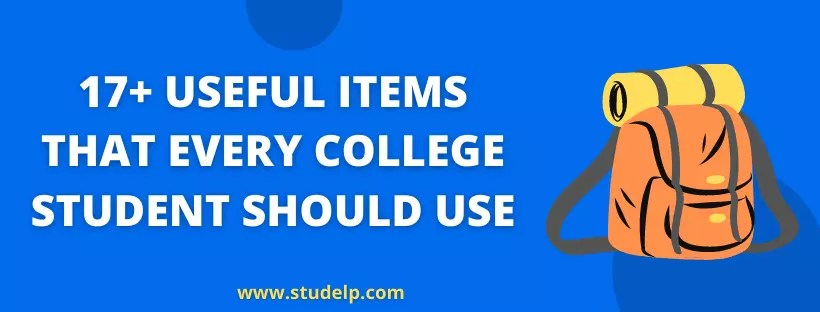 useful things for college students