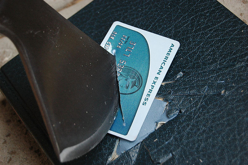 Don't Cut Up Your Credit Cards