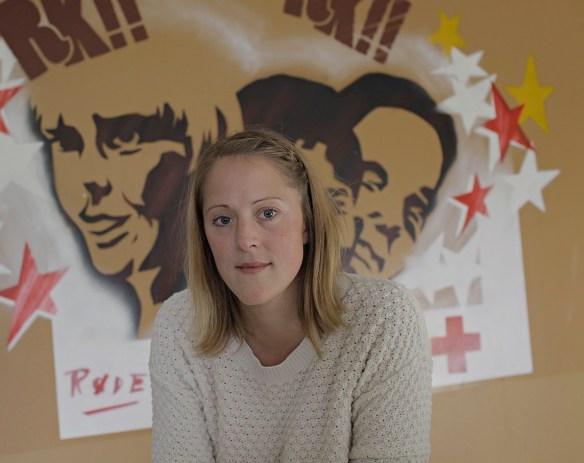 Inger SodelandMastergrad i medievitenskapAktivitetsansvarlig i Oslo Røde Kors