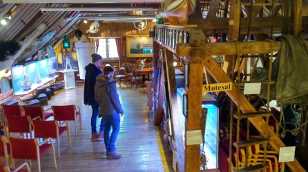 Inside the Polar Museum
