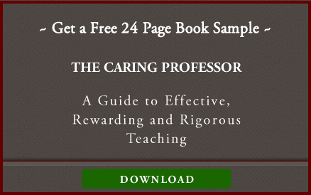 The Caring Professor Sample