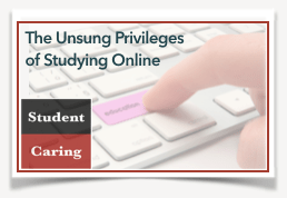 Studying Online  |  Student Caring