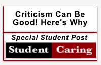 Criticism Can Be Good! Here's Why