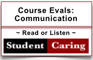 Student Caring Communication