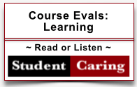 Student Caring - Learning
