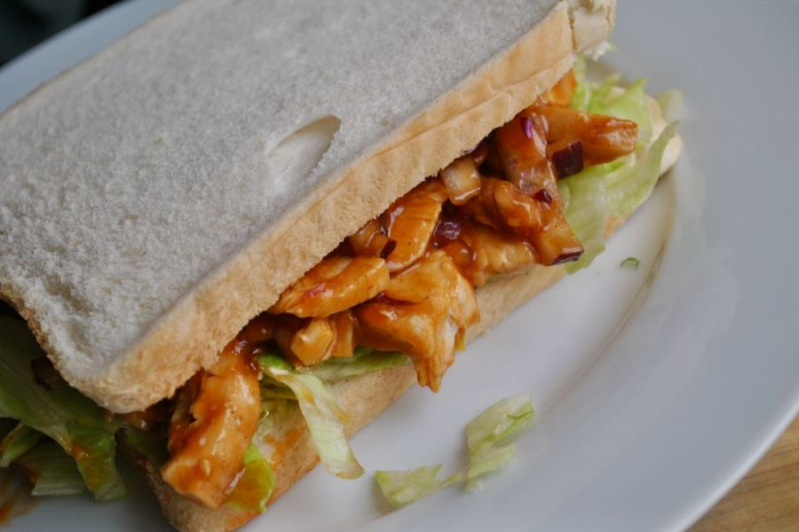 bbq chicken sandwich recipe - 1