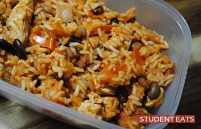 burrito rice student recipe - 3