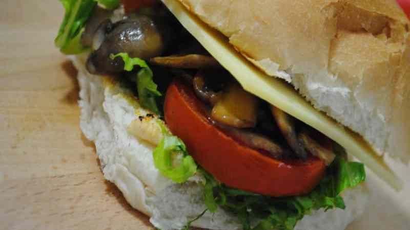 Fully loaded Mushroom Sandwich Recipe
