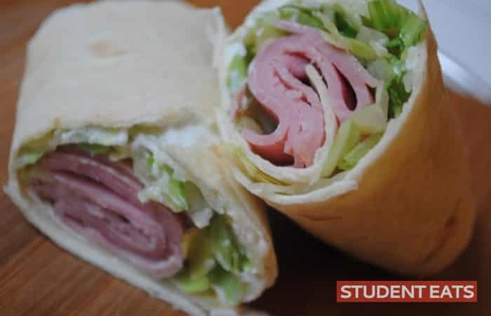 ham cream cheese wrap 1