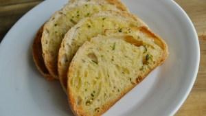 home made garlic bread toast recipe - 1