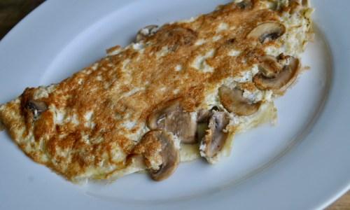 mushroom omelette recipe - 1