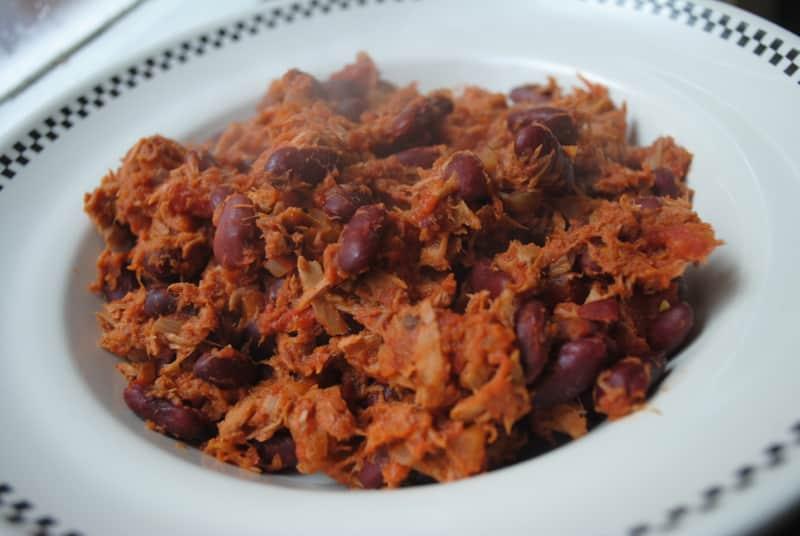 Tuna Chilli Con Carne