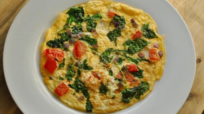 veggie omelette recipe - 2
