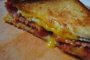 full english toastie - 1