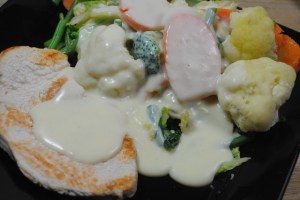 Chicken And Veg With Creamy Butter Sauce Recipe - 1