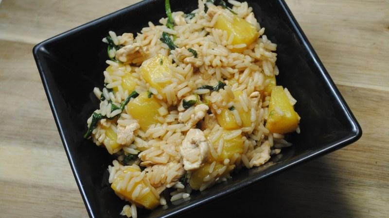 Healthy Turkey and Pineapple Rice Stir Fry recipe - 2