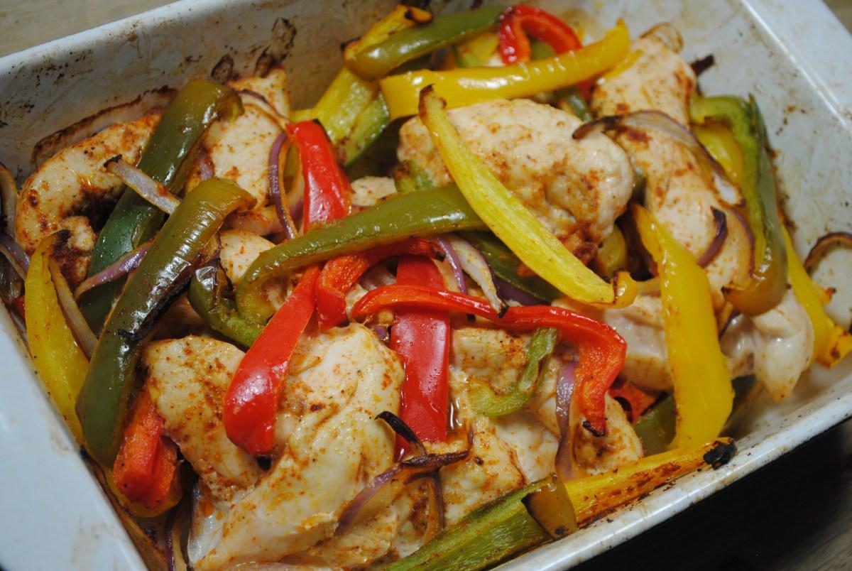 One Dish Delicious Chicken Fajitas Recipe - 1