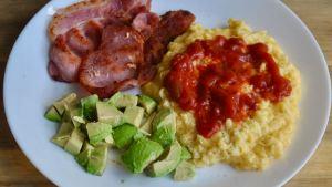 salsa scrambled eggs recipe - 1 (1)