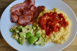 salsa scrambled eggs recipe - 1 (1)