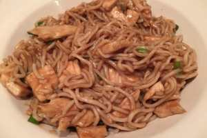 hoi sin chicken noodles recipe