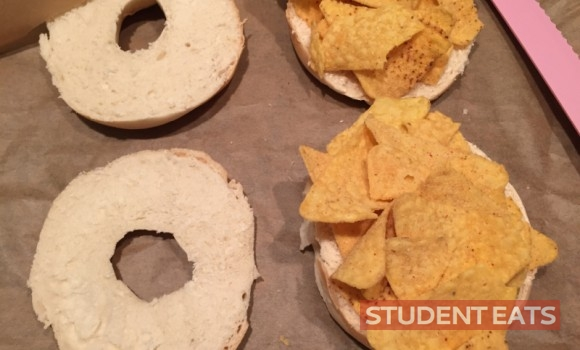 nacho bagel 1