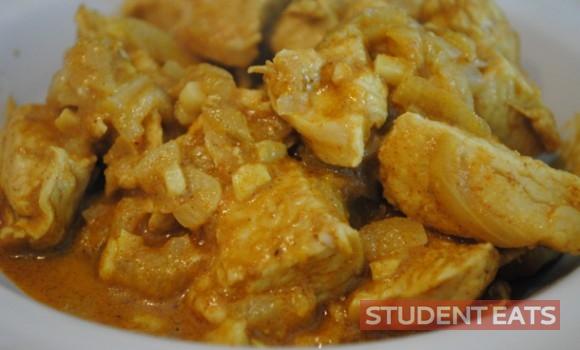 student eats food 1