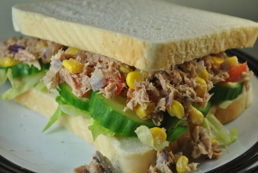 Healthy Tuna Mayo Sandwich Recipe - 2