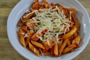 chicken Fajita pasta recipe - 2